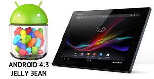 android jellybean sony xperia tablet z gets official android 4 3 jelly bean aosp rom