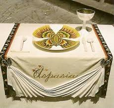 judy chicago dinner table place setting for aspasia detail from the dinner party by judy