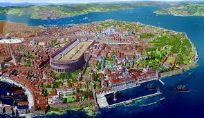 Map Of Istanbul Map Of Byzantine Empire With Facts Istanbul Tour Guide