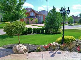 Landscape Ideas For Front Yard by Stunning Big Front Yard Landscaping Ideas Pics Inspiration Amys
