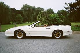 Last Year Of Pontiac Firebird Pontiac Firebird 3rd Generation Trans Am Turbo 20th Anniversary