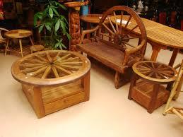 Rustic Wood Patio Furniture Brilliant Design Mexican Outdoor Furniture Pleasing Rustic Wood