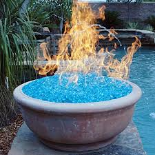 How To Lite A Fire Pit - fire glass no smoke odor or ashes and plenty of style