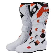 motocross boots sidi sidi new mx crossfire 2 srs eu white orange ktm motocross