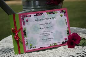 homemade birthday invitations u2013 frenchkitten net