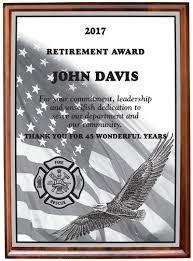retirement plaque retirement plaques ultimate service awards