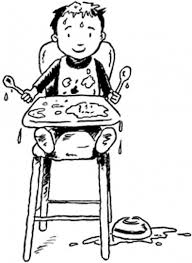 Dining Room Table Clipart Black And White Toddler Proofing Your Dining Room Carpet Wirl Project