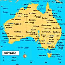 map od australia map od australia major tourist attractions maps
