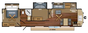 Jayco Travel Trailers Floor Plans by 2018 Jay Flight Bungalow Travel Trailer Floorplans U0026 Prices