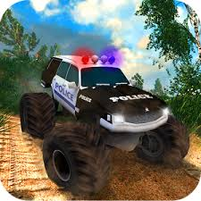 offroad police monster truck android apps google play