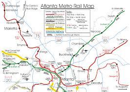 map of atlanta metro area atlanta ga railfan guide rsus
