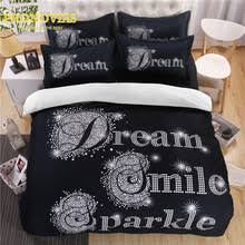 Black Duvet Cover Set Compare Prices On Black Duvets Online Shopping Buy Low Price