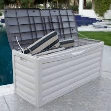 suncast patio storage box 103 gallon 10 x 6 shed cheapest free