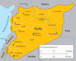 Syria World Map by Ancient Syrian Sites A Different Story Of Destruction By Hugh