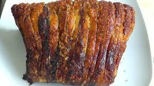 christmas roasted pork loin u0026 perfect crackling how to make recipe