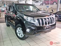land cruiser prado car 2014 toyota land cruiser prado for sale in malaysia for rm253 000