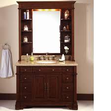 Antique Looking Bathroom Vanities Lanza Wf6495 Dc Bathroom Vanity With Hutch Crafted With Antique