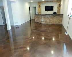 Painting A Basement Floor Ideas by Stylish Brown Epoxy Basement Floor Paint Ideas Flooring Ideas