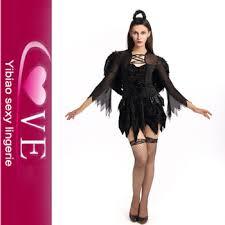 Black Swan Costume Halloween Size Women Black Angel Halloween Dress Black Swan