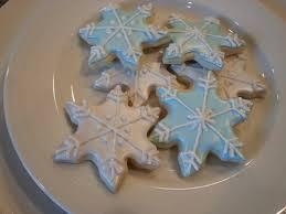 snowflake cookies frozen snowflake cookies district desserts