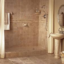 tile bathroom floor ideas house brown brick wall tiles for small interior design ideas with