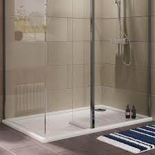 cooke u0026 lewis ultra low profile lh rectangular walk in shower
