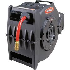 water hose reel wall mount legacy retractable air water hose reel u2014 with 1 2in x 50ft pvc