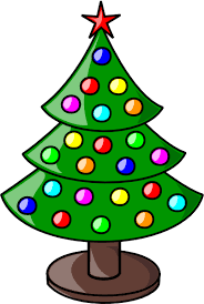 small christmas tree clipart