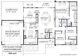 modern cabin floor plans modern house plans
