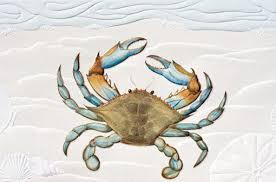 pumpernickel greeting cards pumpernickel press greeting card blue crab andy thornal company