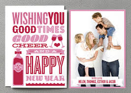 clever new years cards new year s cards are a way to kick the year cool