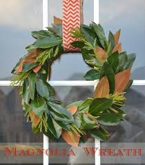 magnolia wreath whats ur home story