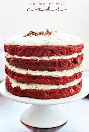 grandma u0027s red velvet cake something swanky