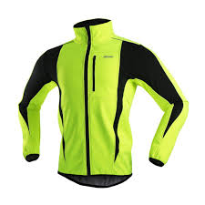 yellow waterproof cycling jacket amazon com arsuxeo winter warm up thermal softshell cycling