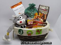 themed basket ideas bacon gift basket gift basket ideas themed