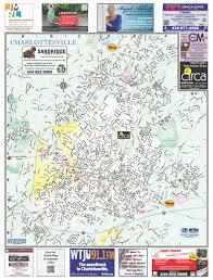 Map Of Charlottesville Va Charlottesville Virgina With Albermarle County City Street Map
