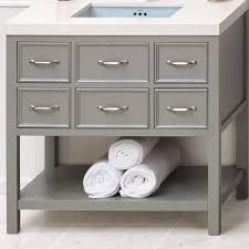 Ronbow Vanity Faucet Com 052736 F21 Kit 1 In Ocean Gray Broad Black Quartz