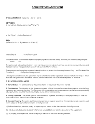 5 marriage separation agreement template small business profile
