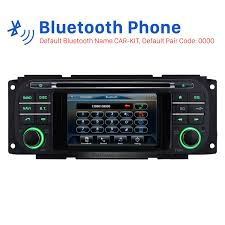 jeep grand bluetooth 2000 2001 2004 jeep grand unit auto a v dvd radio