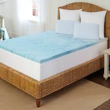 Memory Foam Mattress Topper Reviews Sleep By Pure Rest 2 Inch Marbleized Gel Memory Foam Mattress Topper