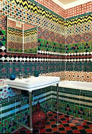 mosaic bathroom floor tile ideas 31 multi color tiled bathroom designs digsdigs