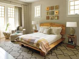 small bedrooms decorating ideas brown laminated bed frame bedside