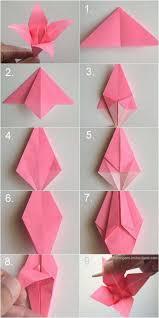 3d Origami Flower Vase Tutorial Unique Origami Flower Vase Folding Instructions