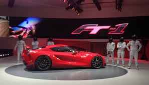Ft 1 Toyota Price Toyota Ft 1 The Next Supracar Eointernational