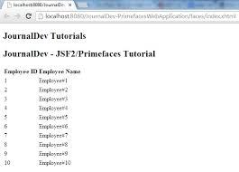 tutorial java primefaces jsf primefaces tutorial journaldev