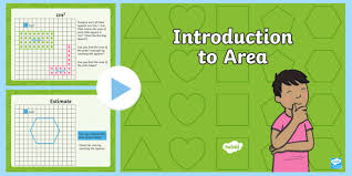 introduction to powerpoint introduction to area powerpoint cfe maths area powerpoint