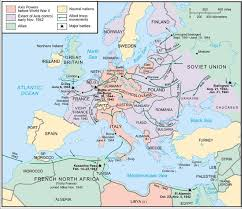 Map Of Europe 1942 by Allied Operational Failure Operation Market Garden Made By History