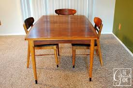 Dining Table And Chair Sale Found Mid Century Lane Acclaim Dining Table And Chairs The