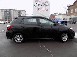 toyota awd hatchback used 2011 toyota matrix s awd in edmundston used inventory