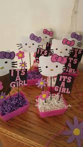 Barbie Themed Baby Shower by 25 Unique Hello Kitty Centerpieces Ideas On Pinterest Diy Hello